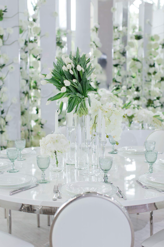 Minimalist wedding in June by Maria German decor - 012