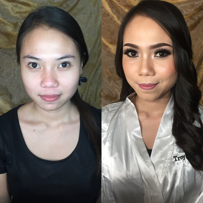 Pre-wedding makeup by Troy Makeup Artist - 006