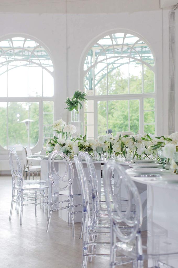 Minimalist wedding in June by Maria German decor - 008