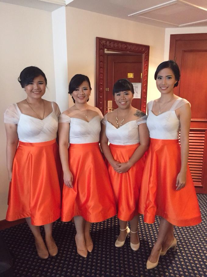 Bridesmaid's dress by GÍSELA - 004