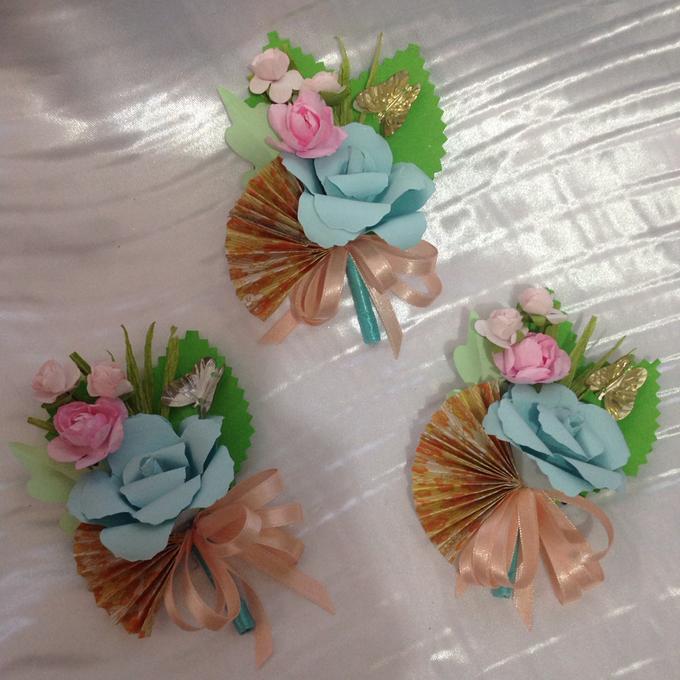 Pastel Handcrafted Entourage Bouquets by Duane's Fleur Creatif - 024