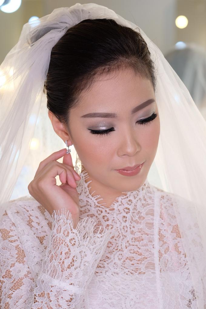 Ria wedding makeup by Amanda Makeup Artist - 002
