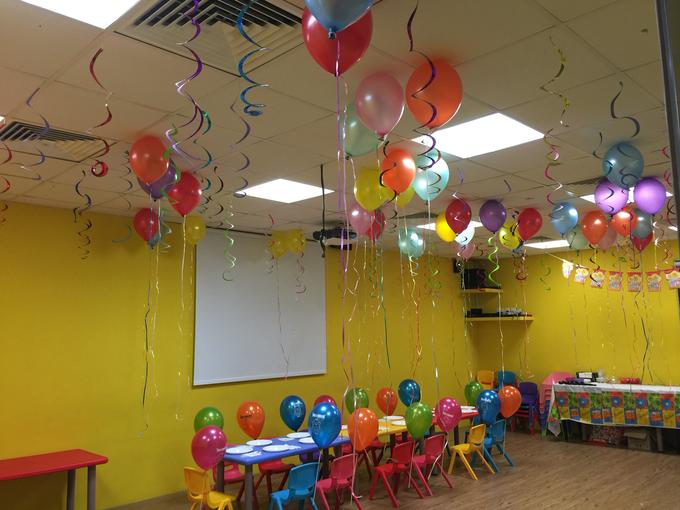 Rainbow balloons by ilmare Wedding - 005