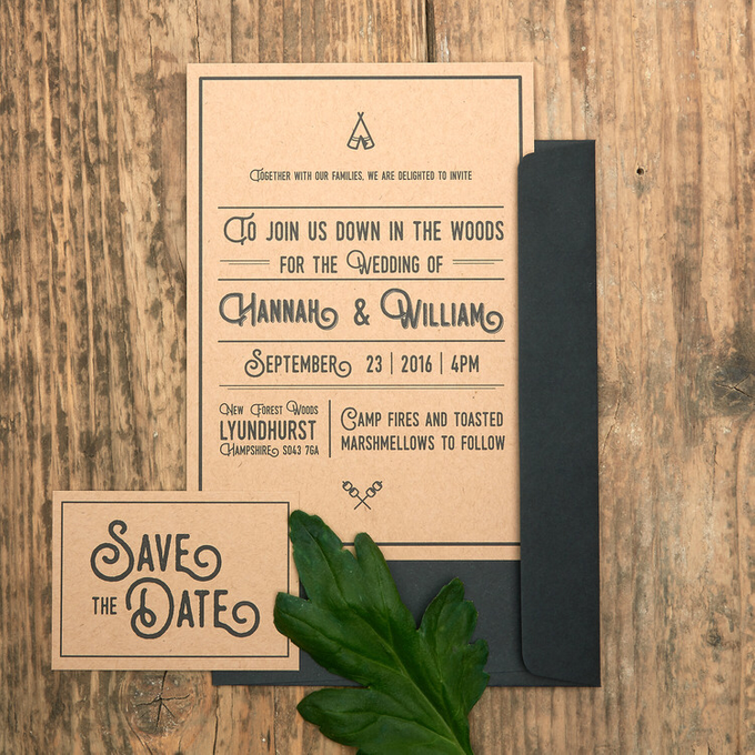 Forest template design by Vicky Perry Wedding Stationery - 007