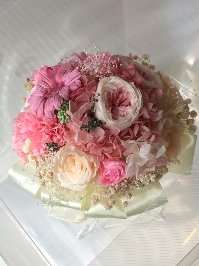 Bridal Bouquet & Boutonnière  by Petal Co. - 005