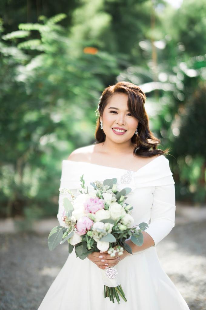 Bridal Makeup for Mhel  by GJ Esguerra Photography - 001
