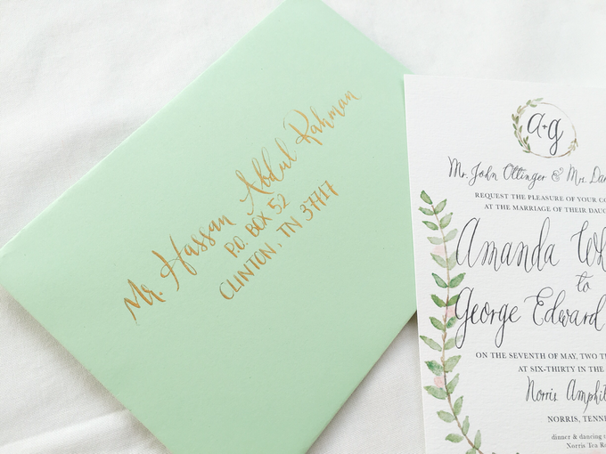 Botanical Suite by Meilifluous Calligraphy & Design - 009