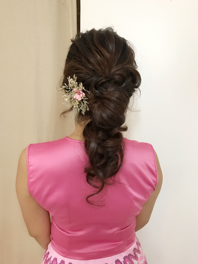 Bridal Hairstyles  by Zinny Theint Make-up Artistry - 006