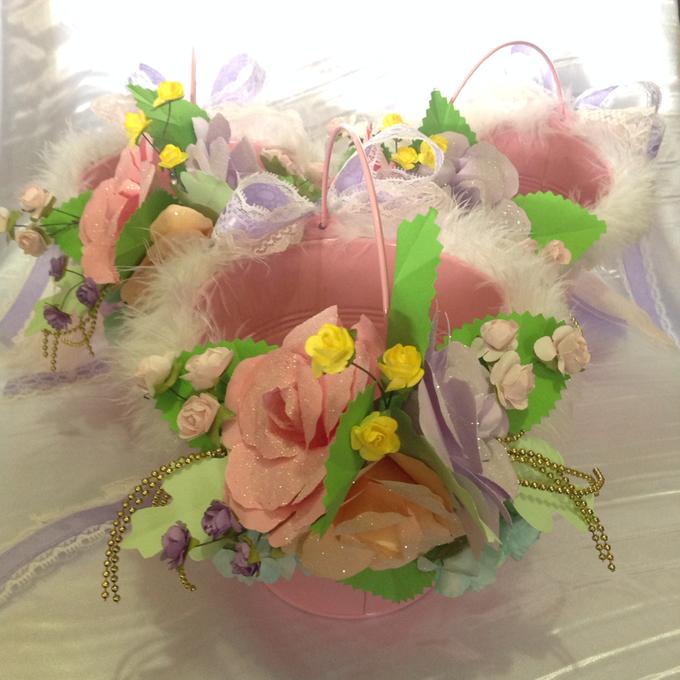Pastel Handcrafted Entourage Bouquets by Duane's Fleur Creatif - 015
