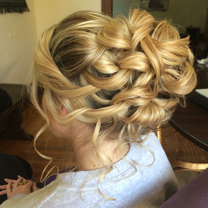 Bridal makeup and hair  by Lilianbeauty - 019