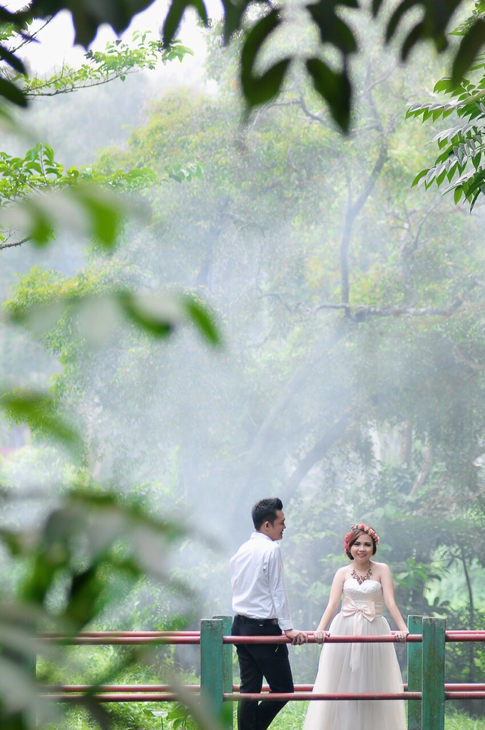 Story of Prewedding : Nova & Alvi by glamour photography - 002