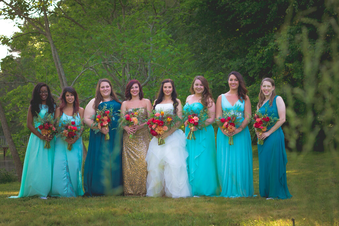 Southern summer wedding  by L&A Event Designs - 004