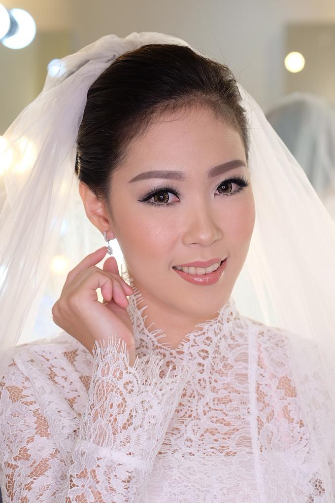 Ria wedding makeup by Amanda Makeup Artist - 001