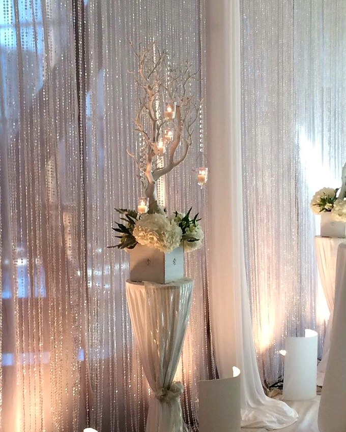 S&I Wedding Ceremony & Reception by Haute Event Decor - 003