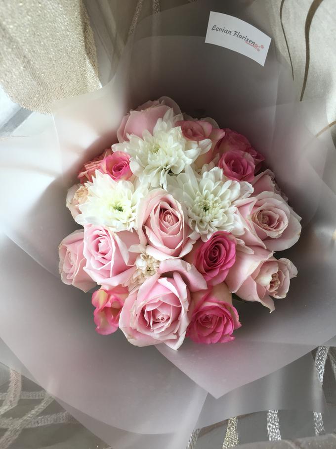 Pink Velvet Bouquet  by Levian Florisen - 005