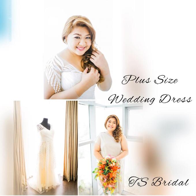 PLUS SIZE WEDDING DRESS by TS BRIDAL BALI - 018