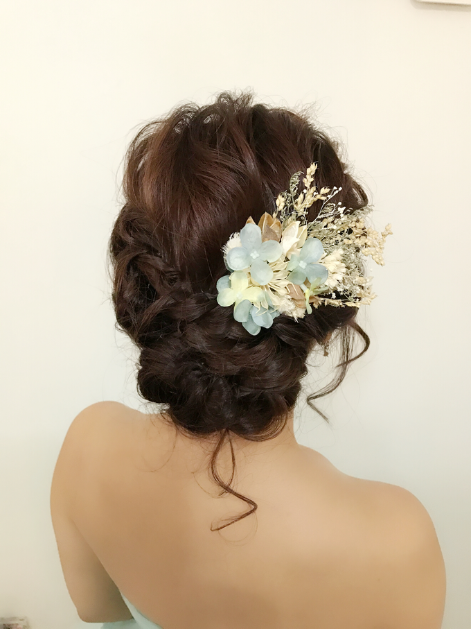 Bridal Hairstyles  by Zinny Theint Make-up Artistry - 004