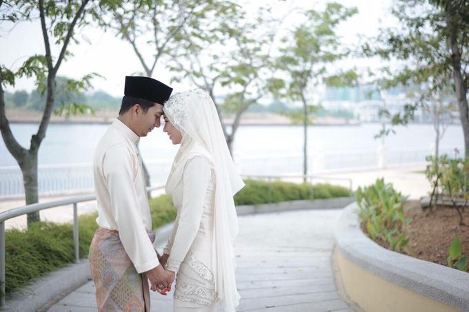 SOLEMNIZATION DRESS by wedding by zamin zawani - 005
