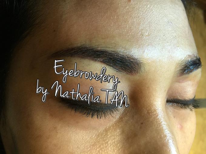 Eyebrow Embroidery  by Nathalia TAN Makeup Artist - 005