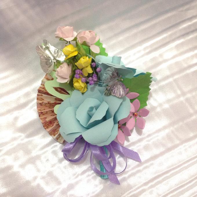 Pastel Handcrafted Entourage Bouquets by Duane's Fleur Creatif - 026