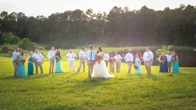 Southern summer wedding  by L&A Event Designs - 037