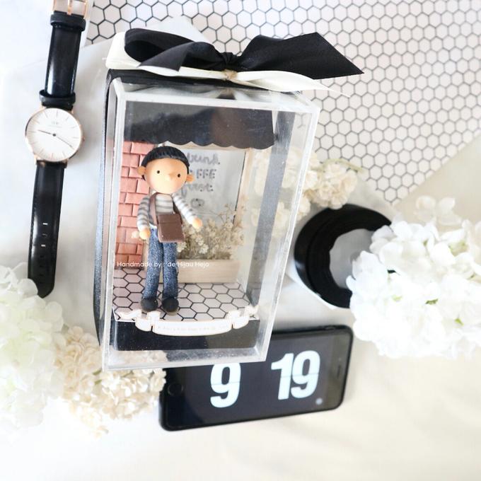Birthday gift idea (single miniature in a box) by de hijau hejo - 009
