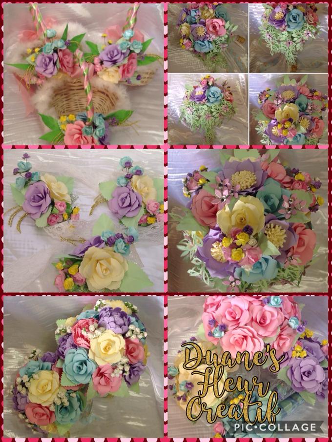 Pastel Handcrafted Entourage Bouquets by Duane's Fleur Creatif - 001