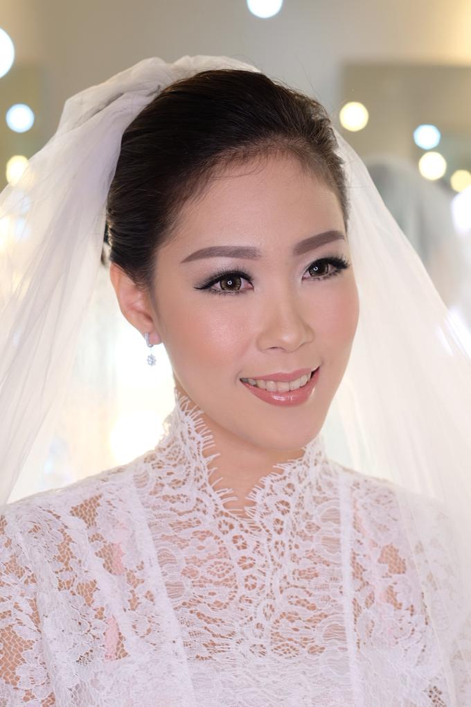Ria wedding makeup by Amanda Makeup Artist - 005