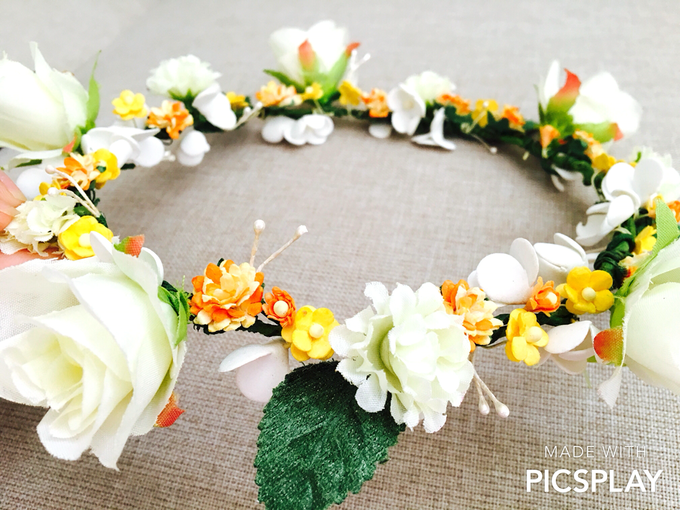 Flower Crown - Import Flowers  by Wedding Needs - 004