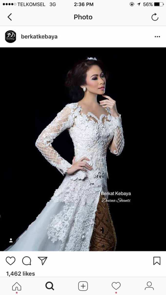 Wedding Gowns by Berkat Kebaya By Devina Shanti - 033