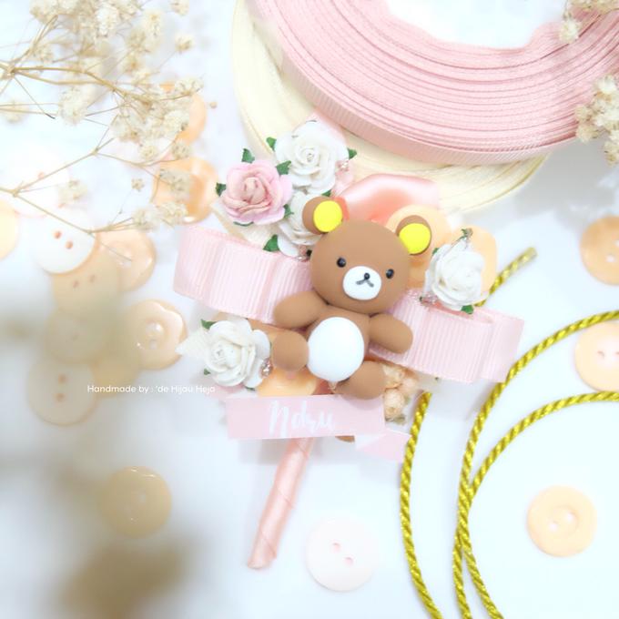 Blush Colour For Corsage And Wristband by de hijau hejo - 011