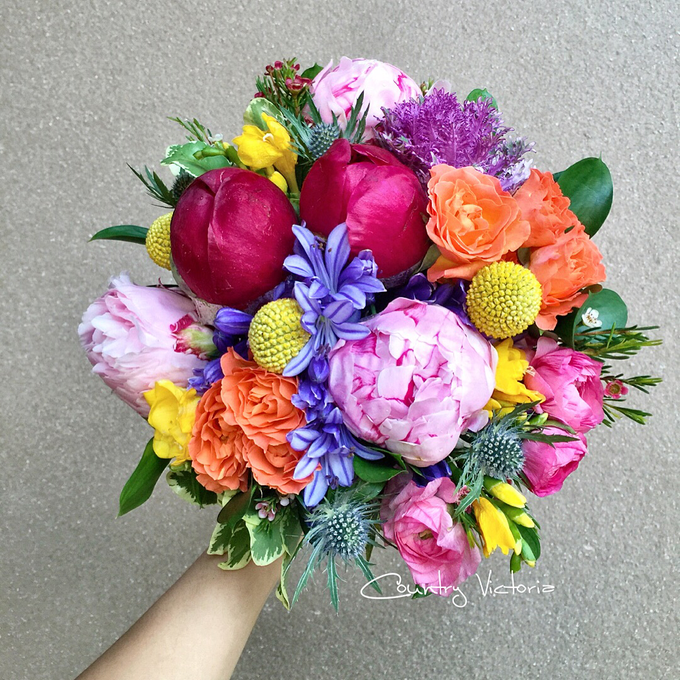 Bridal Bouquets by Country Victoria - 018