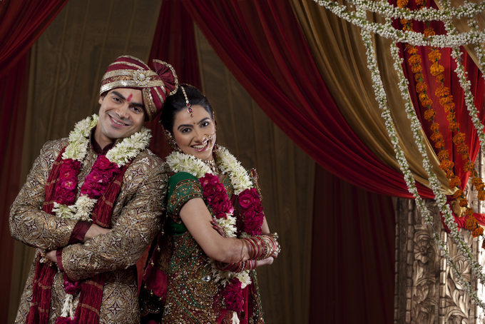 Beautiful cultural Indian wedding by Merit Events - 001