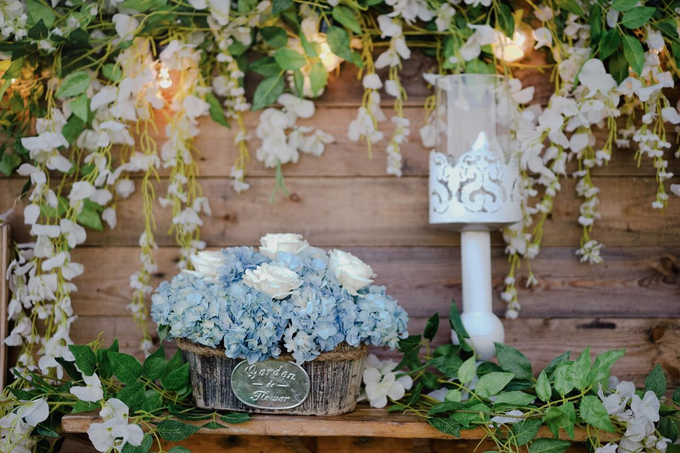 Dusty blue in romantic rustic by Bali Signature - 011