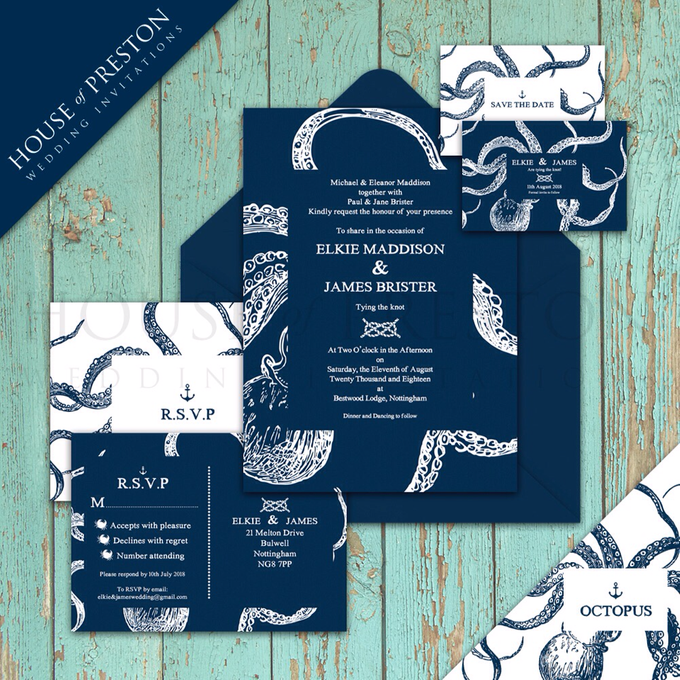 Wedding Invitations by House Of Preston - 003