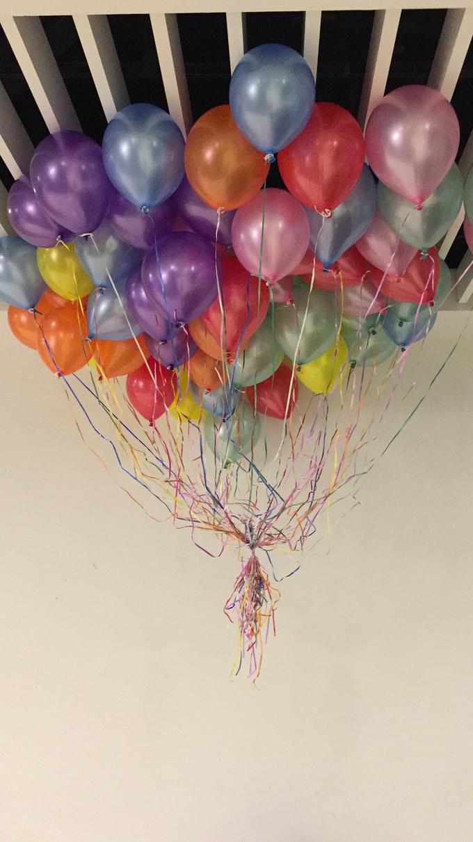 Rainbow balloons by ilmare Wedding - 001