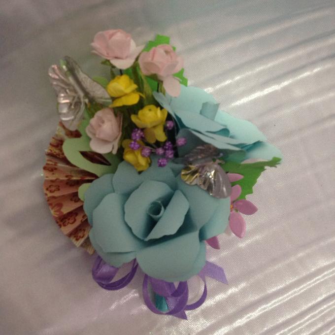 Pastel Handcrafted Entourage Bouquets by Duane's Fleur Creatif - 027