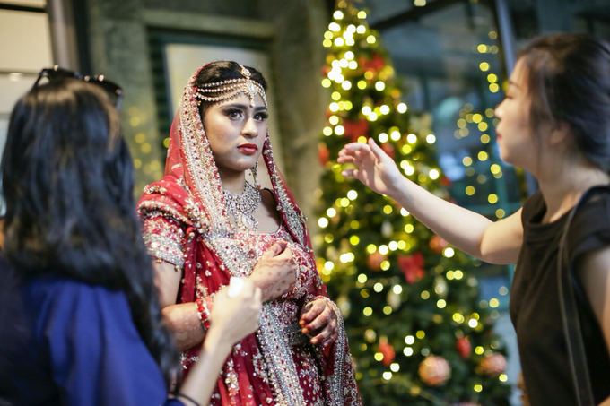 Bee Meera's Wedding by YRegina Makeup - 002