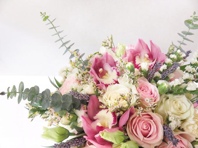 Pink lavender by Royal Petals - 003