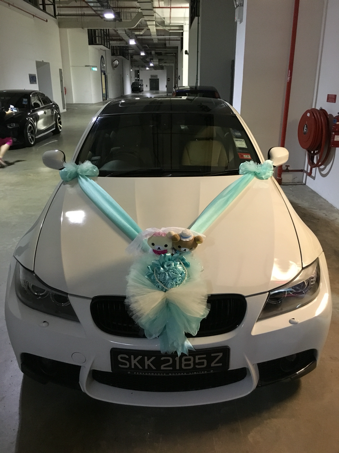 Wedding car decorations  by PERFECT WEDDING CAR SG - 005