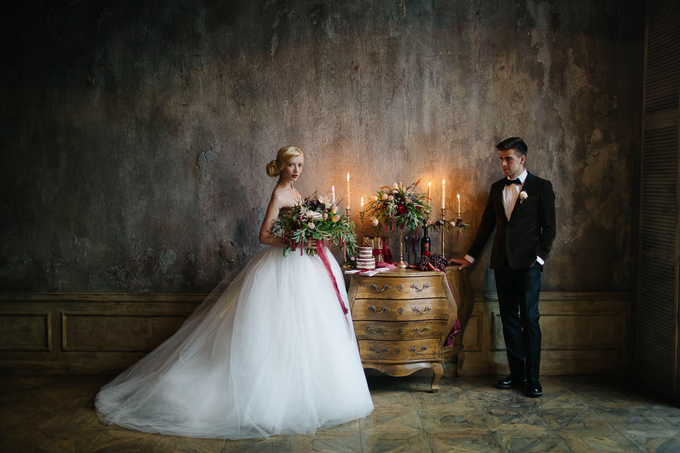 Marsala wedding by Aleksandra Sashina - 001
