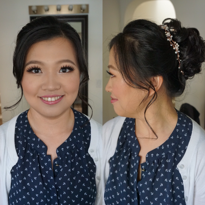 Bridal makeup and hair  by Lilianbeauty - 010