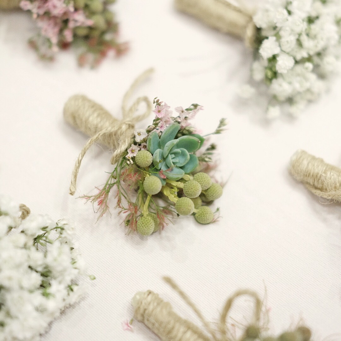 Prima & Luke Holy Matrimony by La Bloom Florist - 010