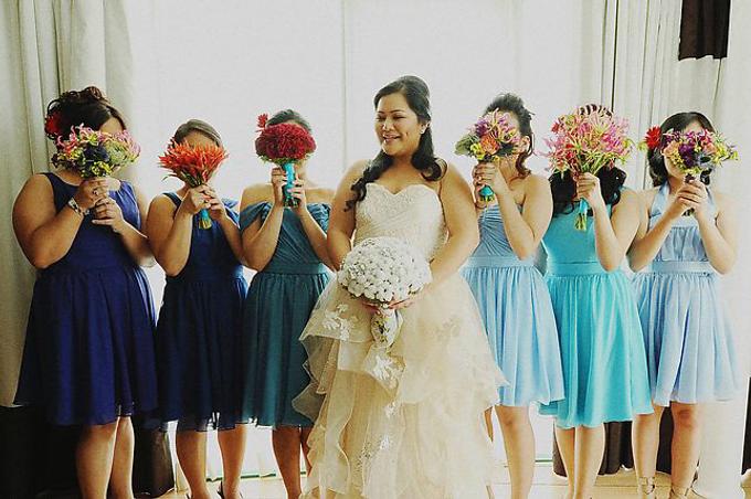 PLUS SIZE WEDDING DRESS by TS BRIDAL BALI - 013
