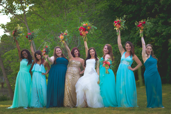 Southern summer wedding  by L&A Event Designs - 005