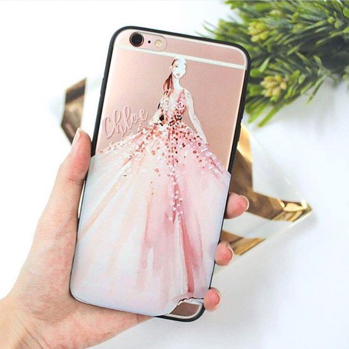 Custom Phone Case Gift by dydx Bride - 001