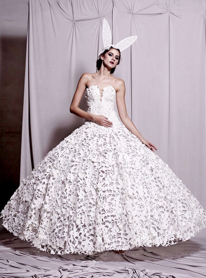 Couture Wedding Dress  by Crystal Clarissa - 001
