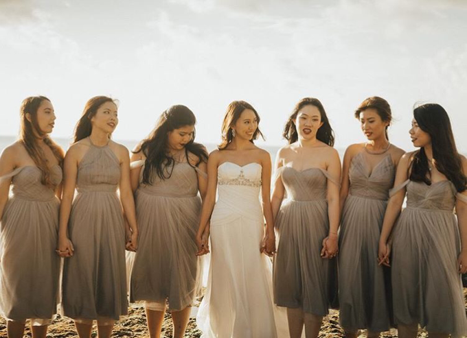 Melissa Koh's Bridesmaids by Juillet - 005