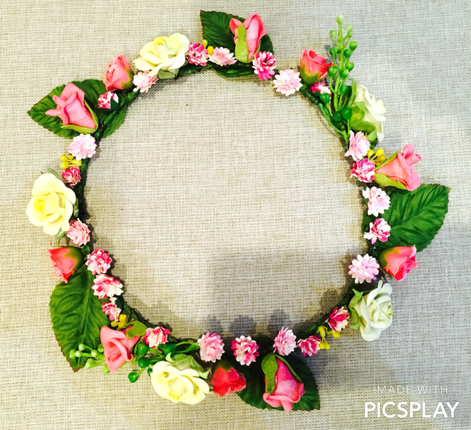 Flower Crown - Import Flowers  by Wedding Needs - 016