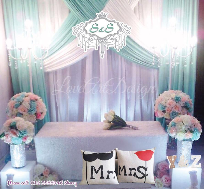 Promotion backdrop by love art design - 002